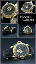 LUXURY DESIGNER AUTOMATIC JACQUES CANTANI MEN'S WATCH ETA 2824 2UHRWERK