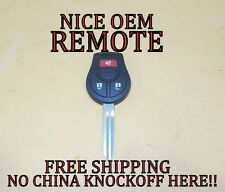OEM NISSAN KEYLESS ENTRY REMOTE HEAD IGNITION FOB TRANSMITTER CWTWB1U751 W/CHIP