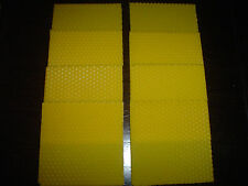 8 pcs natural beeswax candle sheets from Mediterranean 3 15/16in x 3 15/16in