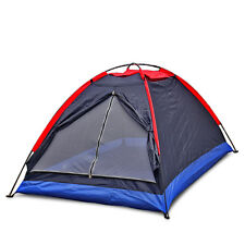 Foldable Couple Double 2 Person Tent Single-layer Camping Outdoor