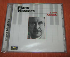 "Claudio Arrau CD "" PIANO MASTERS "" 2CD/History"