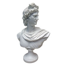 Ancient Greek God Apollo Belvedere Handmade Desktop Statue Bust By Leochares