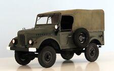 Modelik 13/11 - Russischer Geländewagen GAZ-69M (1952) mit Lasercutteilen   1:25
