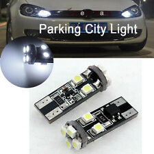 6000K White 501 T10 8-SMD Error Free Canbus Mercedes LED Parking Lights (2 Pcs)