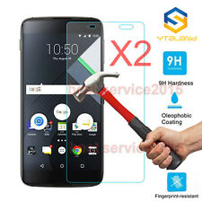 2Pcs 9H+ Premium Tempered Glass Film Screen Protector For BlackBerry DTEK60