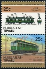 1901 Class AEG Electric High Speed Railcar Germany Train Stamps / LOCO 100