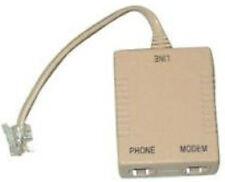 FILTRO ADSL SDOPPIATORE (LINE MODEM PHONE) con 11cm cavo telefonico e RJ11