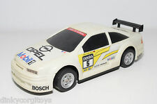 TOY HOUSE PLASTIC R/C OPEL CALIBRA DTM WHITE EXCELLENT CONDITION