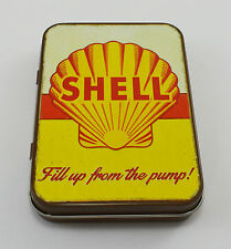 Superb Vintage Tin Plate Keepsake Tin 'Shell Oil/Petrol' Garage/Workshop Tobacco