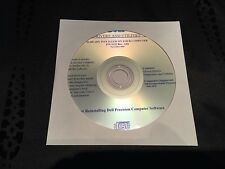 Workstation Dell Precision Mobile m20 m70 Driver CD DVD Disc