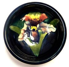 Moorcroft Blue Orchid Bowl - Made in England