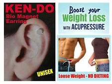 Unisex KEN-DO Magnet WEIGHT LOSS Healing EARRING NO MORE DIETING SLIMMING PILLS