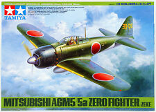 1/48 tamiya 61103 - Mitsubishi A6M5/5a Zero - Fighter (Zeke) Plastic Model Kit