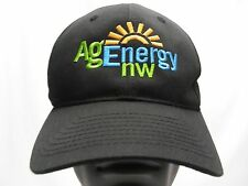 AG ENERGY NW - EMBROIDERED - ADJUSTABLE BALL CAP HAT!