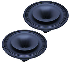 SEISMIC AUDIO - Pair of 15 Inch Coaxial Speaker with Integrated T-Yoke 350W NEW