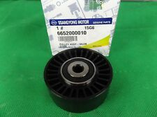 GENUINE SSANGYONG ACTYON SPORTS UTE 2.0L TURBO DIESEL IDLER PULLEY TOUCH ASSY
