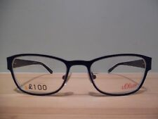 S. Oliver Purple, Grey & Black Oval Eye Glasses Mod.93782 Col.960 50 18 135