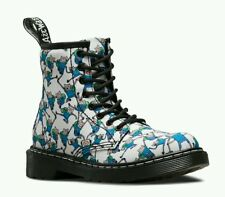 Dr Martens Delaney Adventure Time Finn Print Canvas Boots Women's US 5 NEW $95