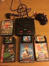 Sega Mega Drive 2+ Streetfighter 2 Turtles Wonderboy 3 Hang On World Cup Columns