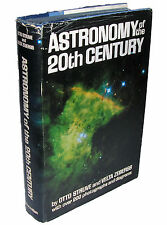 ASTRONOMY OF THE 20TH CENTURY by Otto Struve & Velta Zebergs, 1962, 1st Edition