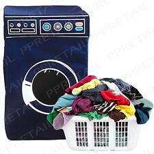 Laundry ostacolare + BLU MODERNO LAVATRICE + dirty clothes storage bin / CESTELLO