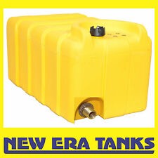 """125 litre diesel tank - vented cap - 3/4"""" brass male threaded outlet"""