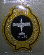 PATCH RARA AERONAUTICA MILITARE COMMEMORAZIONE 500 ORE DI VOLO SF260
