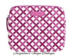 NEW Vera Bradley Neoprene Tablet Sleeve in Julep Tulip Pink NWT MSRP $48