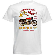 VINTAGE SPANISH MOTORCYCLE BULTACO TRALLA 102 - NEW COTTON T-SHIRT