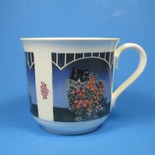 Villeroy & Boch Galerie Cat Cup Made in West Germany Vintage Bone China