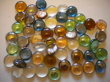 GLASS NUGGETS  GLASS STONES 480+ MIXED COLOURS MOSAICS VASES FISH TANKS WEDDINGS