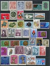 LUXEMBOURG COLLECTION + SOUVENIR SHEETS MINT, NH