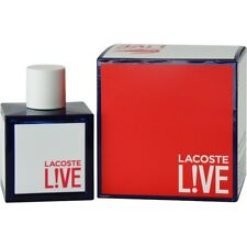 Lacoste Live by Lacoste EDT Spray 3.4 oz