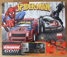 Spiderman vs Venom Marvel Heroes Racers Carrera Go 1:43 Slot Racing System - Set
