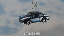 BMW 02 Series Custom Christmas Ornament 1/64 Turbo Sedan 1600-2 1602 2002 tii