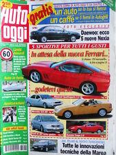Auto Oggi n°30 1996 Ferrari F550 Maranello - Maserati Quattroporte 3.2 [Q201]