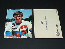 N°254 OLIVIER CHEVALLIER FRANCE PILOTE MOTO COURSES 1976 INTERIMAGE PANINI