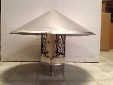 4 inch stove pipe Stainless Steel Chimney Cap -- Made in MAINE, USA!!
