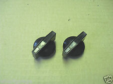 JAGUAR DAIMLER SERIES 2 3 XJ6 XJ12 & EARLY XJS HEATER CONTROL KNOB PAIR C39413