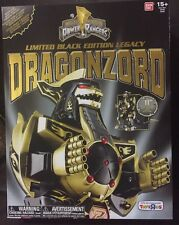 New Limited Black Edition Legacy DRAGONZORD Mighty Morphin Power Rangers Figure