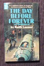 1969 THE DAY BEFORE FOREVER by Keith Laumer VG/FN 5.0 1st Dell 1691 Paperback