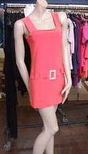 Joseph Ribkoff 10 BNWT Fabulous Coral Holiday Stretch Jersey Long Top Tunic US 8