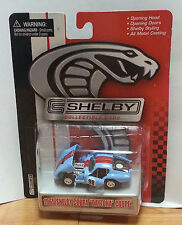 1965 65' Shelby Collectibles Diecast Shelby Cobra Daytona Coupe Blue Red #98 Ltd