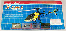 NIB MINIATURE AIRCRAFT USA X-CELL 60 HELIICOPTER KIT