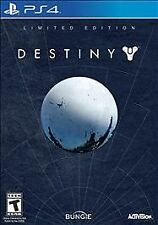 PLAYSTATION 4 DESTINY LIMITED EDITION BRAND NEW SHOOTER VIDEO GAME