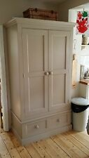 Kitchen Larder Cupboard 2 Door 1 drawer Hand Painted