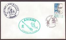 "France Space Cover 1988. ""Spacenet 3R"" ""Telecom 1C"" Launch. Ariane V21 Kourou #6"
