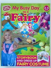 CHAD VALLEY: MY BUSY DAY AS A FAIRY - STORY BOOK & DRESSING-UP COSTUME - NEW
