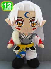 "SESSHOMARU plush Inuyasha plush 12""/ 30cm UK Stock Fast Shipping High Quality"