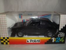 Vintage Polistil SN75 VW Golf Black 1/24 Mint & Boxed